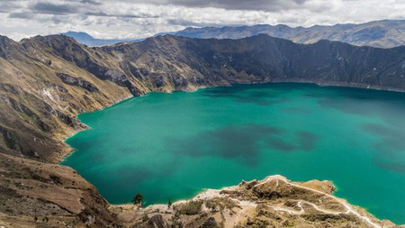 As the home of active volcanoes, crater lakes and mountains peaks galore, Ecuador is well worth the visit