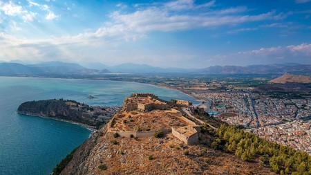 Seeing the view from Palamidi Fortress is one of the top things you can't miss in Nafplio