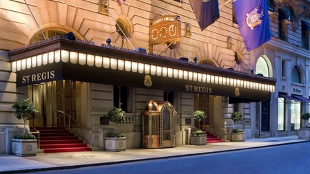 You'll be close to the New York Central Synagogue with a stay at the luxurious St Regis New York
