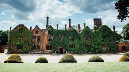 The luxurious Seckford Hall is just a half-hour drive from the ancient mysteries of Sutton Hoo