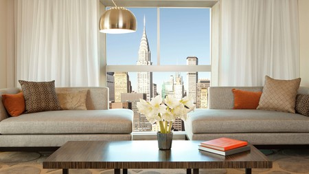 Soak up incredible views of the Chrysler Building from your room at some of these nearby hotels