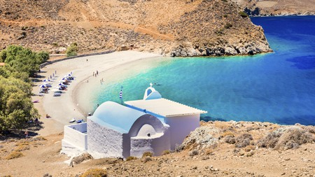 Astypalaia is home to many beautiful beaches
