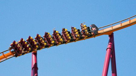 Six Flags Great America has some of the highest rides in the world