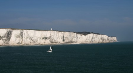The White Cliffs of Dover are one of England's most famous sights