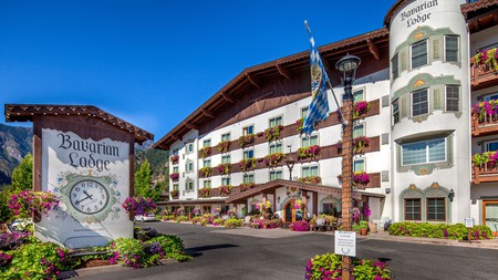 For German vibes, head to the Bavarian Lodge in Leavenworth, Washington