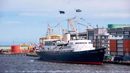 The HMY Britannia carried Queen Elizabeth II across the world's seas and oceans for over four decades
