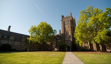 Duke University in Durham is one of the best universities in the USA