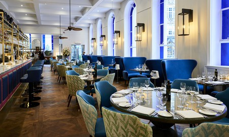 Bristol Harbour Hotel & Spa offers a refined restaurant to enjoy post-pamper