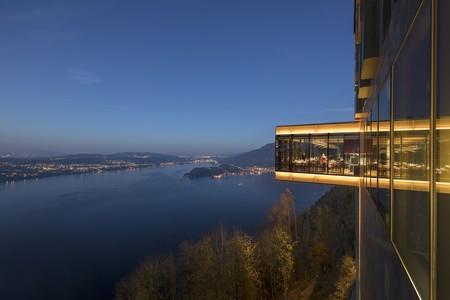 Bürgenstock Hotel & Alpine Spa blends unique construction with unbeatable views