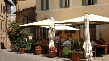 Enoteca l'Alchimista is up there with the very best restaurants in Montefalco