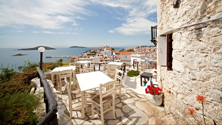 The Windmill Restaurant offers delicious cuisine and spectacular views