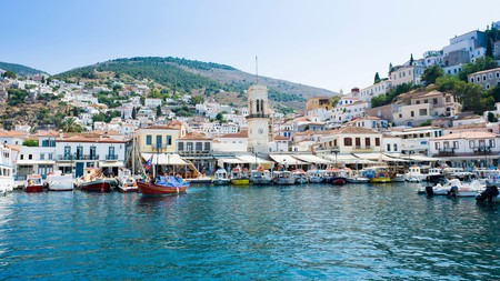 Visit the island of Hydra to experience a true artist's bohemian paradise