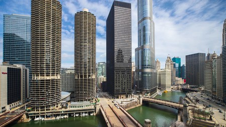 Marvel at Chicago's architecture during your stay near Millennium Park