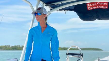 Captain Samantha Zeher, of eco-tourism operator, KeyZ Charters