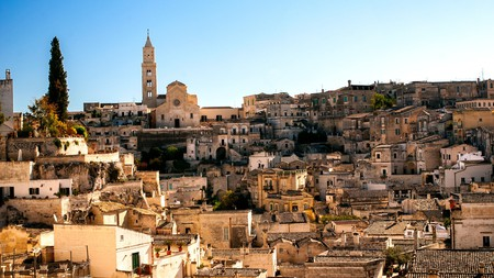 A visit to Matera is like stepping back in time, making it the perfect host to James Bond's style.