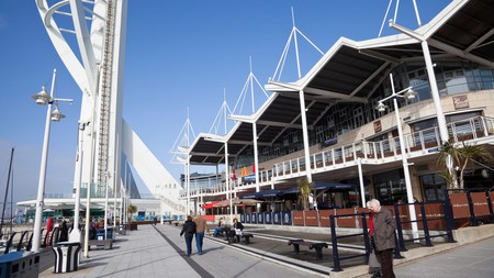 Find the best hotels from which to explore Gunwharf Quays in Portsmouth