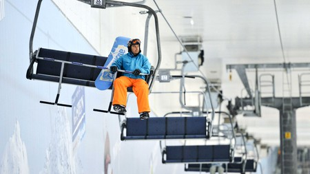 Jump on the ski lift and get ready to hit the slopes at the SnowDome
