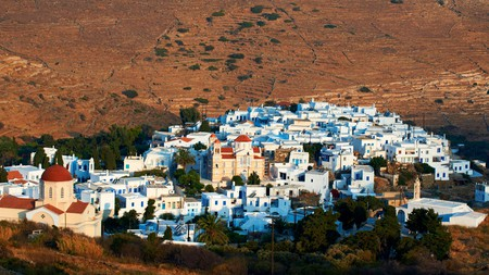The Cycladic island of Tinos draws visitors in with its beautiful beaches and unique attractions