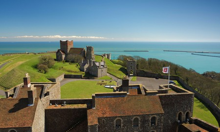 Dover Castle is almost one thousand years old