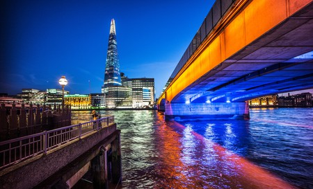 Marvel at the city views of the Shard with a stay near London Bridge Station