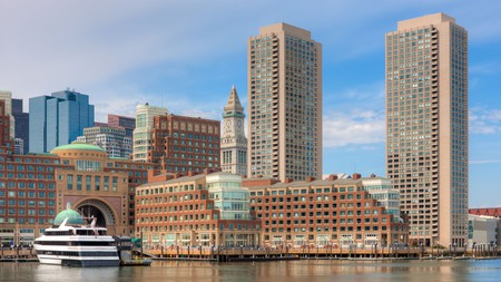 Stay at one of these top hotels in Massachusetts, including a property with Boston Harbor views