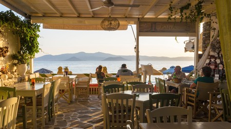 Sit back and enjoy the view with a drink at these incredible bars on Naxos