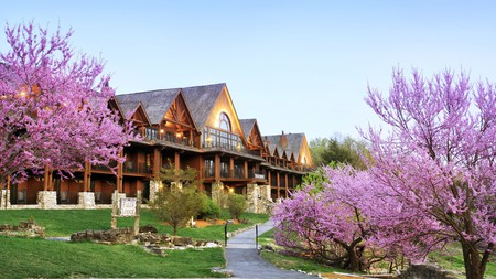 Big Cedar Lodge in Ridgedale beckons outdoor enthusiasts with its rustic charm