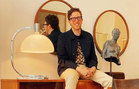 American designer Alan Eckstein