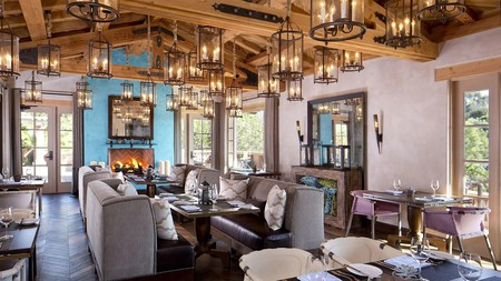 Enjoy an exceptional dining experience at the Rancho Valencia Resort & Spa in San Diego