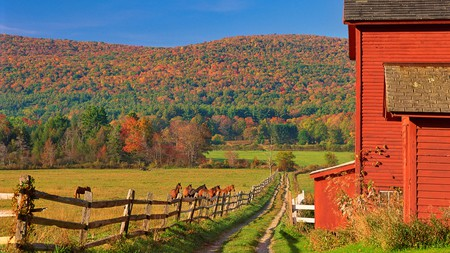 The Berkshires are an ideal spot to enjoy the changing of the seasons