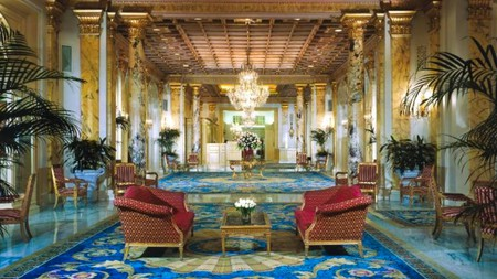 Expect nothing but luxury at the Fairmont Copley Plaza in Boston