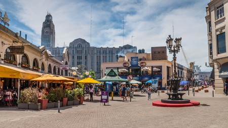 A view of Mercado del Puerto, one of the best spots in Montevideo to sample local cuts of beef