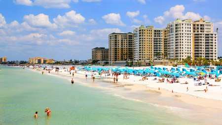 Clearwater Beach is one of the most popular beaches in the USA