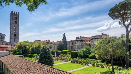 A hub of Renaissance art and architecture, Lucca is dotted with tranquil, centuries-old gardens