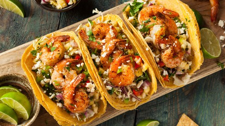 Seafood tacos are a staple of the Puerto Escondido restaurant scene, coming in a wide variety of guises