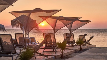 Kos is home to an array of quality beach bars, where cocktails are served alongside sumptuous views