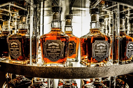 Enjoy a nightcap before bedding down at a hotel near the Jack Daniel's Distillery in Tennessee