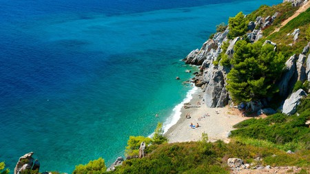 Many of the best restaurants in Halkidiki sit close to the region's beaches