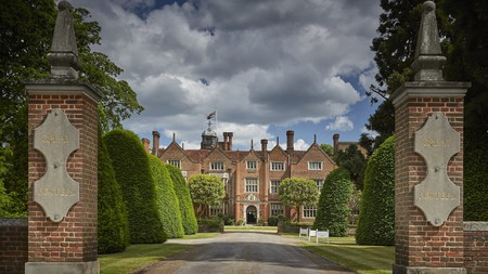 Great Fosters was a royal hunting lodge back in the 16th century