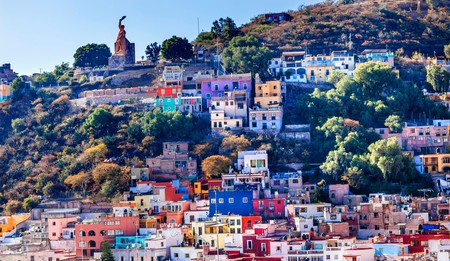 The El Pípila statue is only one of the striking sights in Guanajuato