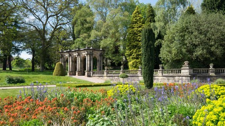 The gardens have 725 acres (293ha) of outdoor space