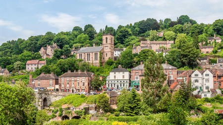 Elegant old buildings like these give Ironbridge some character-filled places to stay