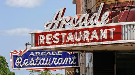 The Arcade is a traditional diner in Memphis