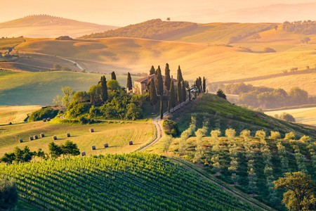 There are so many beautiful sights in picture-perfect Tuscany