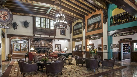 Hotel Alex Johnson in Rapid City makes a great base for exploring nearby Mount Rushmore