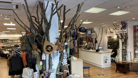 Inside the Climate Shop, Aberystwyth
