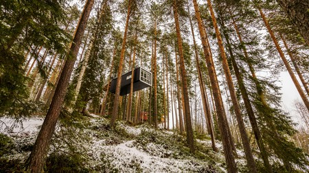 The Tree Hotel is one of the most distinctive accommodation options in Scandinavia