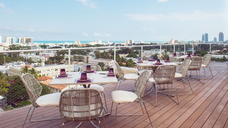 Juvia Miami Beach is the perfect place for a rooftop brunch