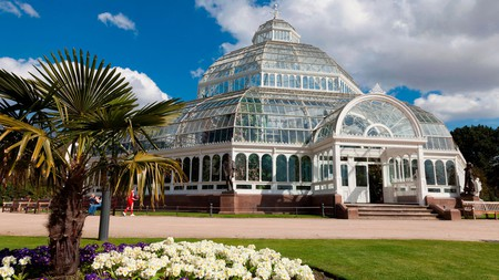 Palm House lies at the centre of Sefton Park and is used as a venue for music and dance events