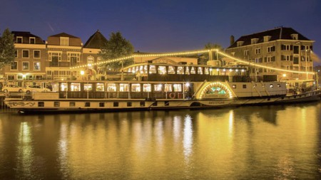 Kapitein Anna: once a paddle steamer, now your floating home-from-home